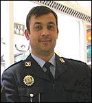 Agente Andrés Martín Gómez Cánovas