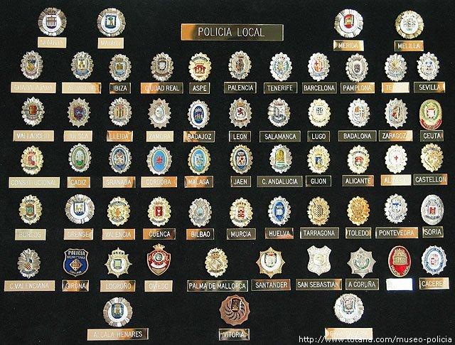 Policias locales capitales provincias (España)