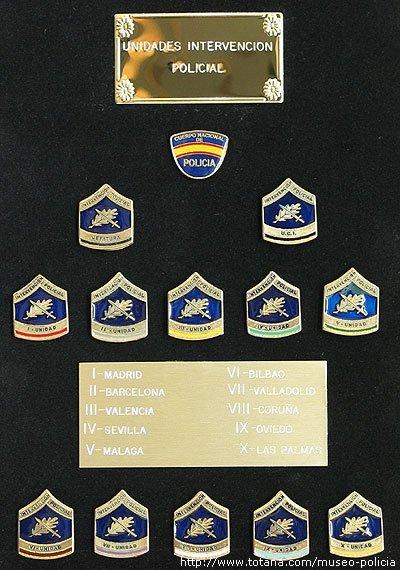 Unidades de Intervencion Policial (C.N.P.)