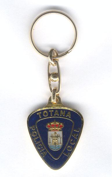 Llavero Policía Local Totana
