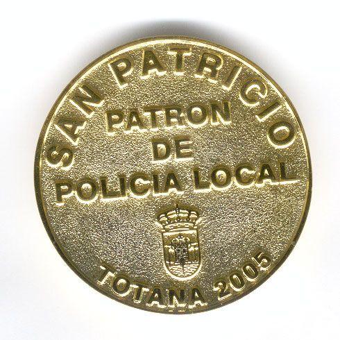 Pisapapeles Policía Local Totana