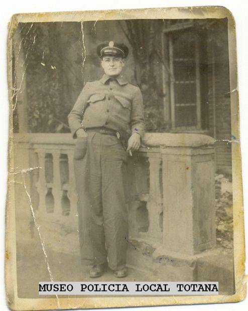 Francisco Cabrera Garcia  (Policia Municipal de Totana)