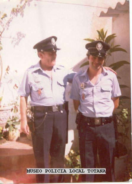 El Torregrosa y Jose Agustin (El  J ) Policia Local Totana