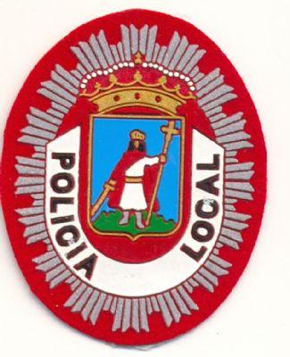 Emblema Pecho Policia Local Gijon
