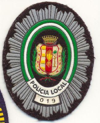 Emblema Pecho Policia Local Trigueros (Huelva)