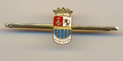 Pisa corbatas Escudo de Castro del Rio (Cordoba)