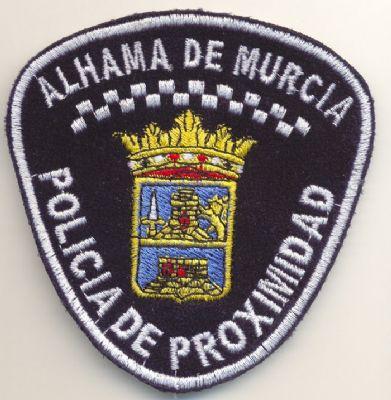 Emblema brazo Policia Local de Alhama de Murcia