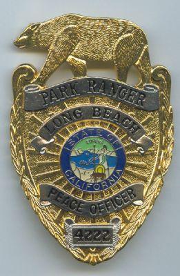 Placa metalica de Park-Ranger (U.S.A.) California