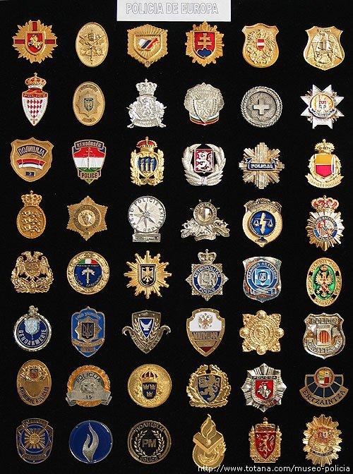 Placas Policias de Europa