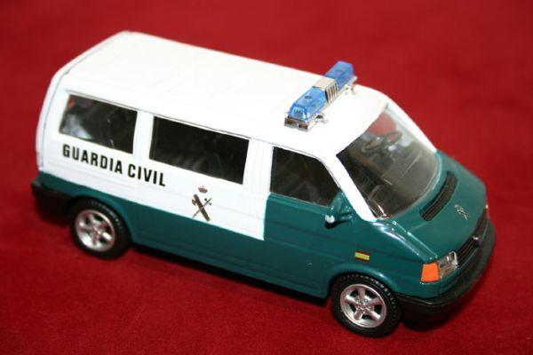 Vehiculo Miniatura  Guardia Civil España.