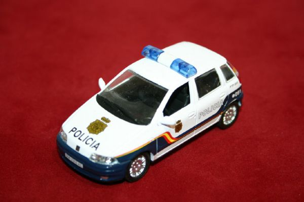 Vehiculo Miniatura Cuerpo Nacional de Policia España