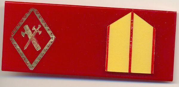 Placa pecho Brigada de la Guardia Civil (epoca Franco)