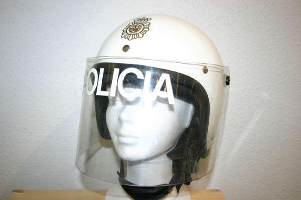Casco Antidisturbios Cuerpo Nacional de Policia (España)