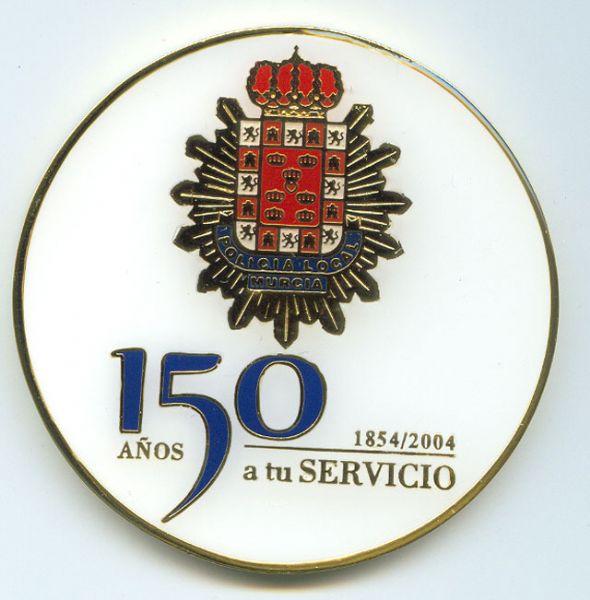 Pisa Papeles (Recuerdo del 150 Aniversario de la Policia Local de Murcia)