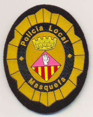 Emblema de brazo y pecho de Policia Local Masquefá (Cataluña)