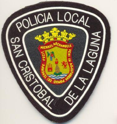 Emblema de brazo de Policia Local San Cristobal de la Laguna (Canarias)