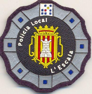 Emblema de Pecho Policia Local L'Escala (Cataluña)