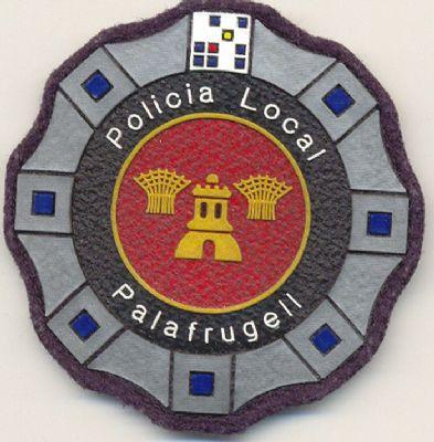 Emblema de Pecho Policia Local Palafrugell (Cataluña)