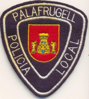 Emblema Brazo Policia Local Palafrugell (Cataluña)