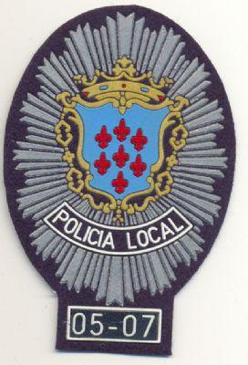 Emblema Pecho Policia Local Alcantarilla (Murcia)