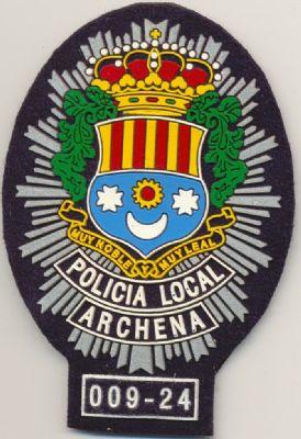 Emblema Pecho Policia Local Archena (Murcia)