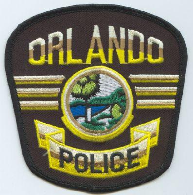 Emblema Brazo Policia Orlando (FLORIDA) U.S.A.