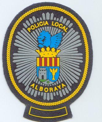 Emblema Pecho Policia Local Alboraya (Valencia)