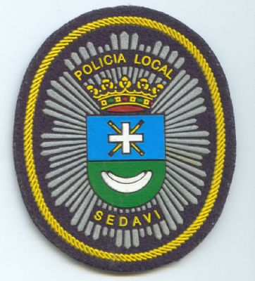 Emblema Pecho Policia Local Sedavi (Valencia)