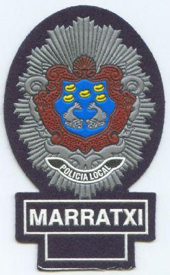 Emblema de Pecho Policia Local Marratxi (Islas Baleares)