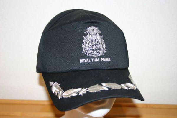 Gorra Beisbolera de Oficial Policia Thailandesa