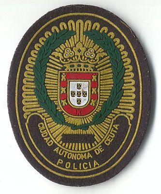 Policía Local de la Ciudad Autónoma de Ceuta (pecho)