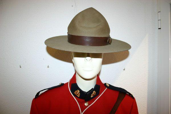 Uniforme de la Policia Montada del Canada