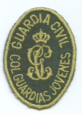 Emblema de Brazo del Colegio de Guardias Jovenes de la Guardia Civil