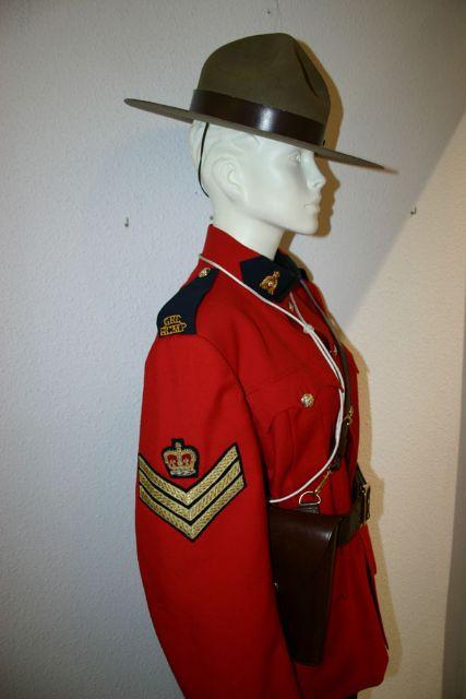 Otros detalles del Uniforme Policia Montada del Canada