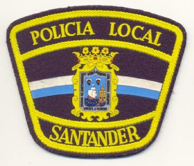 Emblema de Brazo de Policia Local de Santander