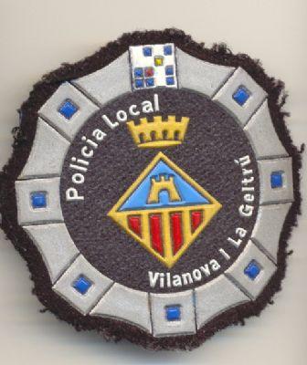Emblema de pecho Policia Local Vilanova I la Geltrú (Cataluña)