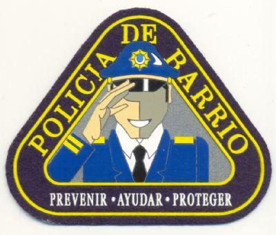 Emblema de Brazo de Policia Barrio  de Santander
