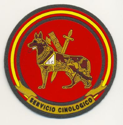 Emblema Guias Caninos K-9 Guardia Civil