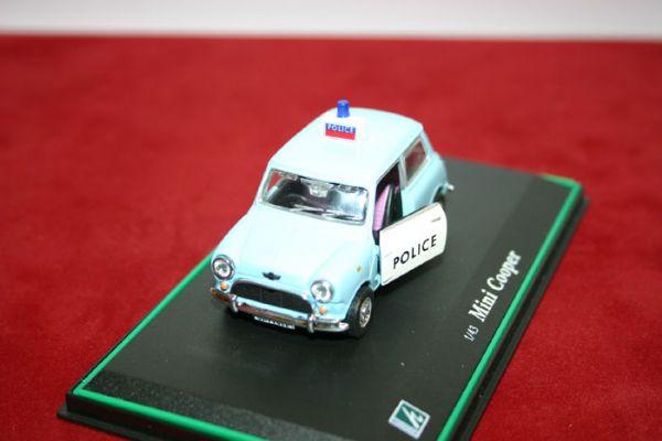 Vehiculo Miniatura Policia