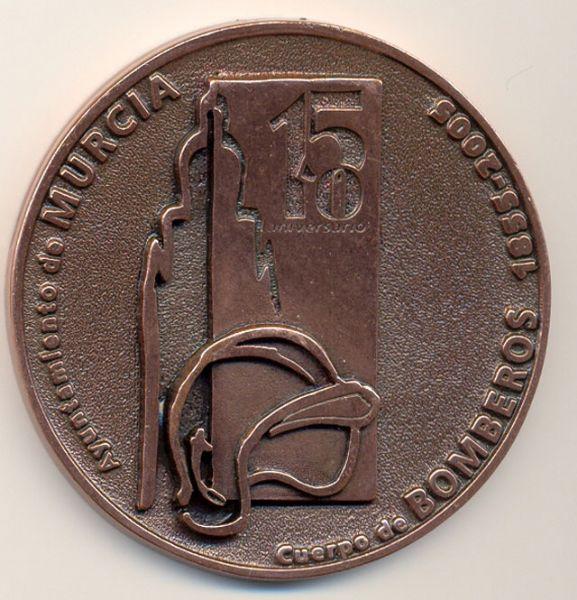 150 Aniversario Bomberos Murcia 1855-2005