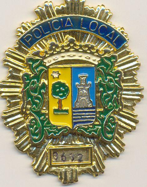 Placa Metalica Pecho Policia Local San Pedro del Pinatar (Murcia)