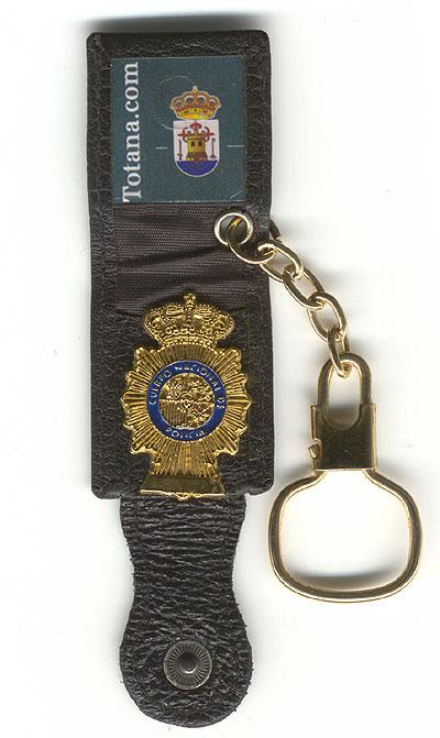 Placa-cartera del Cuerpo Nacional de Policía