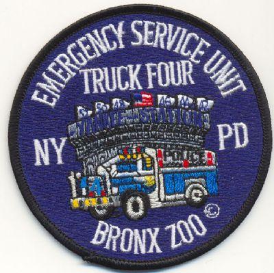 Emblema Brazo Emergencias N.Y. (U.S.A.) SQUAD 4