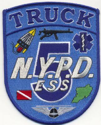 Emblemas Brazo Emergencias N.Y. P.D. (U.S.A.)