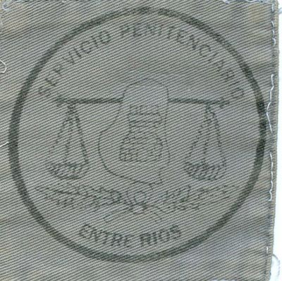 Emblema Pecho Policia Penitenciaria de Entre Rios (Argentina)
