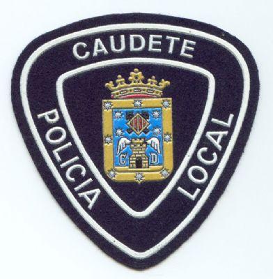 Emblema Brazo Caudete (Albacete)