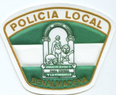 Emblema Brazo Benalmadena (Malaga)