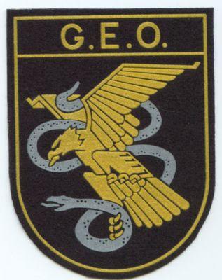 Emblema Brazo Policia GEO