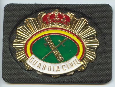 Placa cartera Guardia Civil