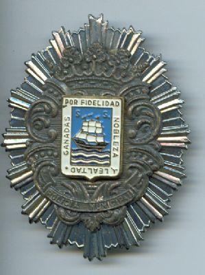 Placa Metalica de San Sebastian